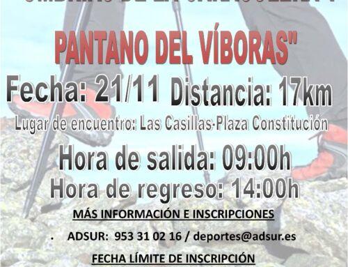 Paseando por los Senderos de Jaén «Umbrías de la Caracolera y Pantano del Víboras»